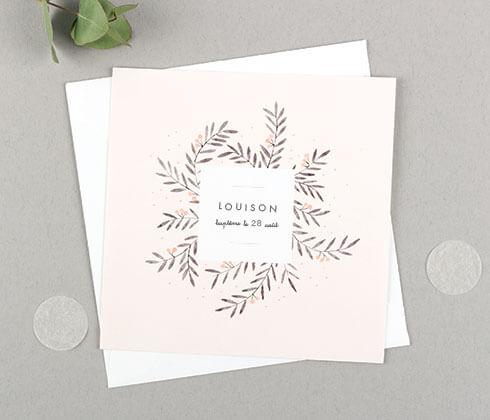 Carte de correspondance et étiquette cadeau personnalisée - Atelier Rosemood