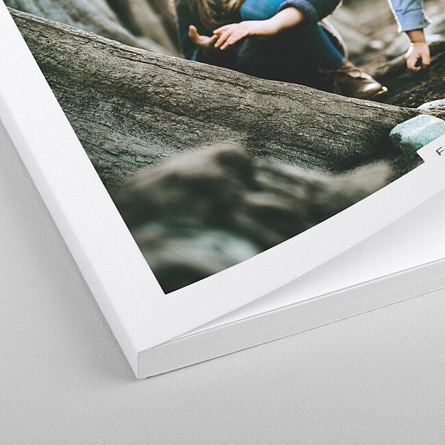 Album photo couverture souple tranche Rosemood.be