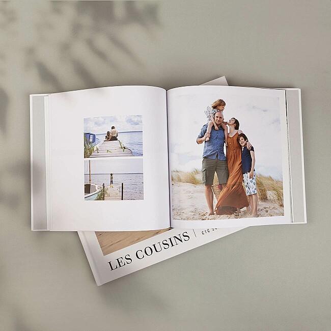 Livre photo couverture rigide imprimée