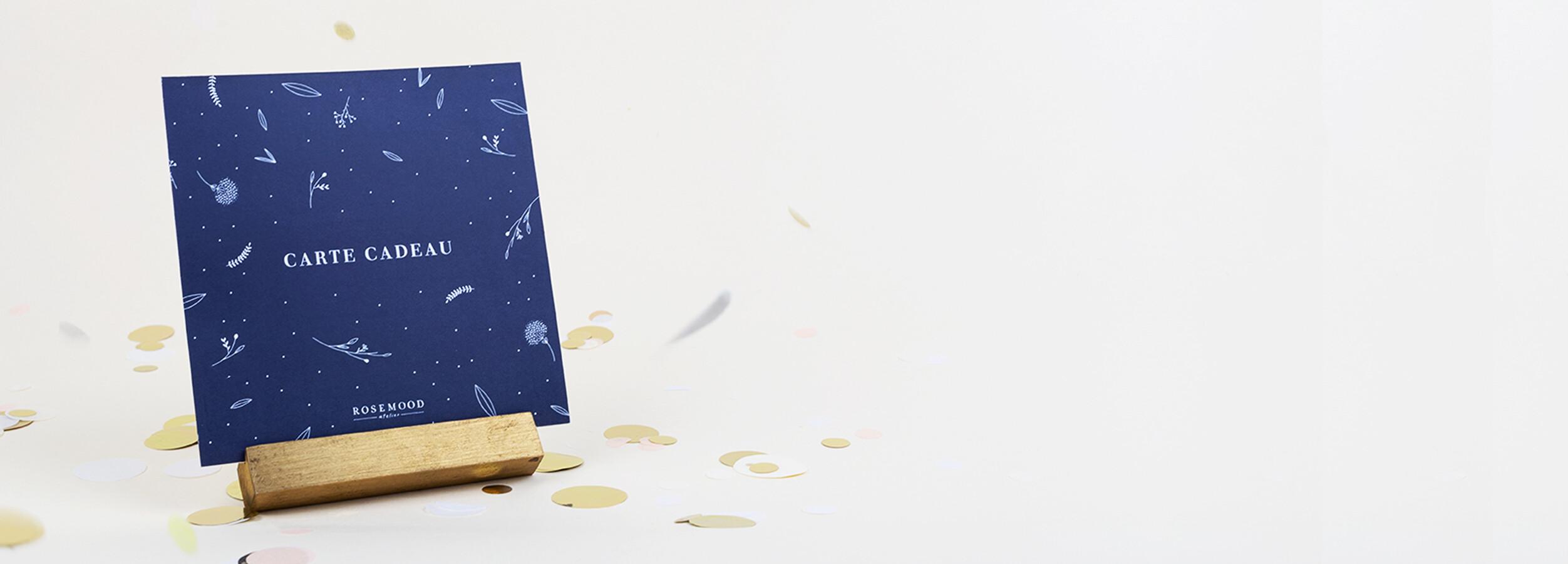 Carte cadeau Rosemood