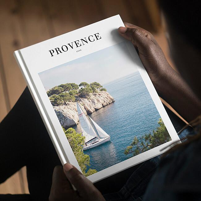 Album photo couverture rigide imprimée
