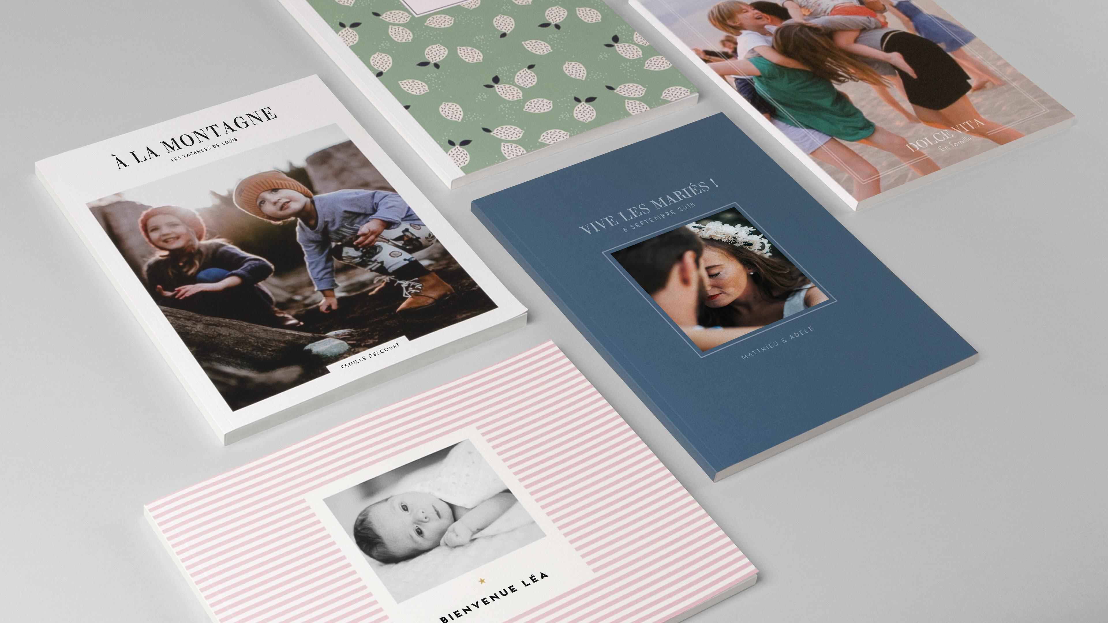 Livre couverture souple design