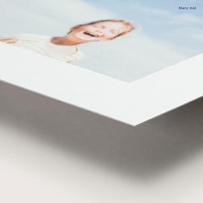 Papier mat tirage photo souple