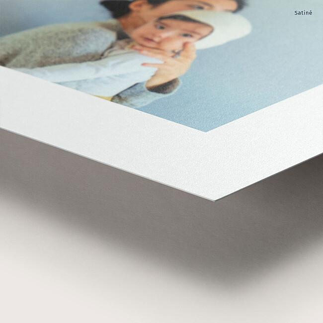 Papier satiné tirage photo souple