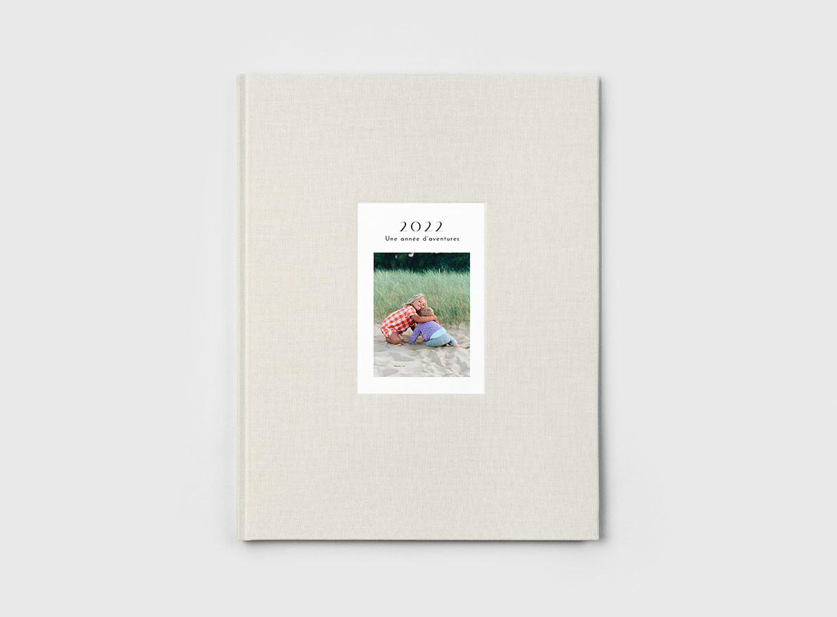 Album photo couverture tissu - photo embossée