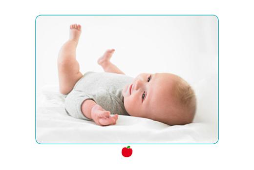 Faire-part de naissance Pomme rouge - Page 2