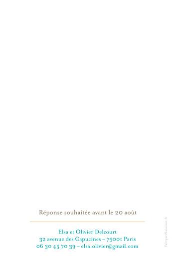 Faire-part de baptême Coupole marron rv - Page 2