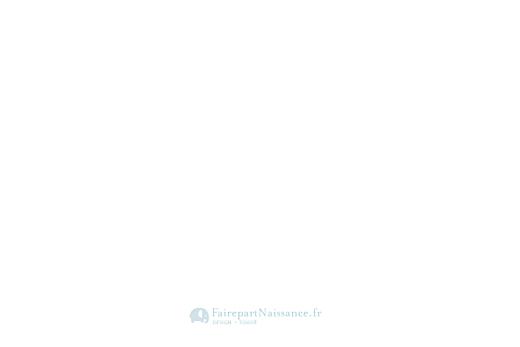 Carte de remerciement Petit élégance garçon bleu - Page 4