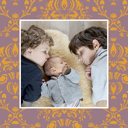 Carte de remerciement Merci ambiance florale photo mixte - Page 2
