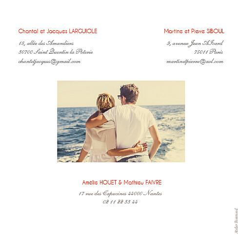 Faire-part de mariage Réjouissance blanc - Page 4