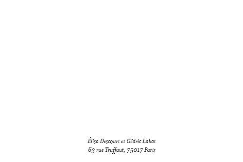 Carton d'invitation mariage Floraison - Page 2