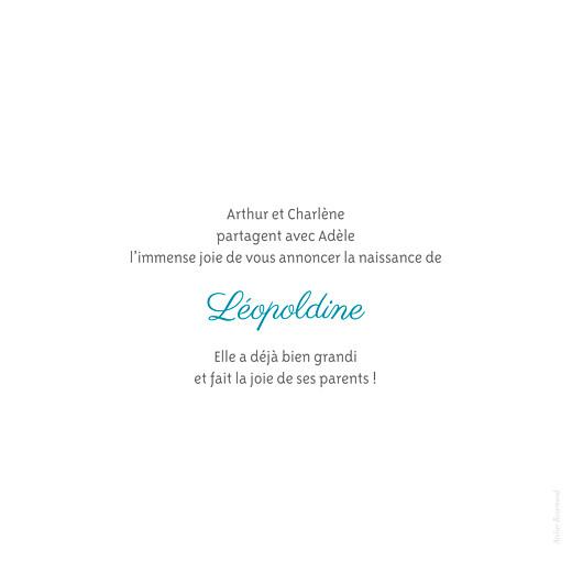 Faire-part de naissance Chevalet blanc - Page 3