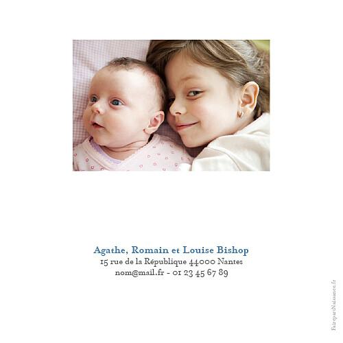 Faire-part de naissance Classique 6 photos blanc - Page 4