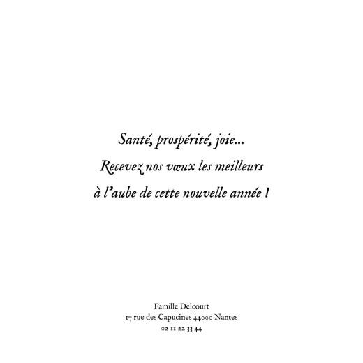Carte de voeux Chevalet blanc - Page 3