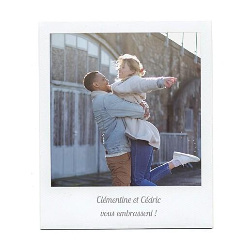 Carte de voeux Polaroid 2 photos blanc - Page 2
