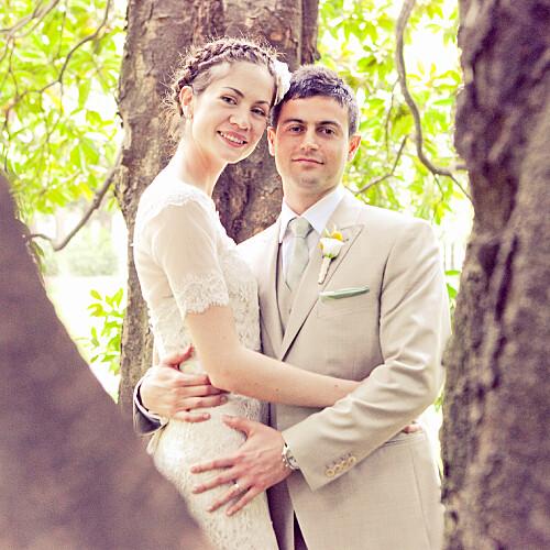 Carte de remerciement mariage Chic (photo) gris - Page 2