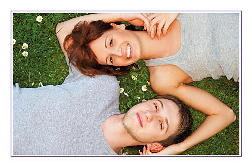 Carte de remerciement mariage Marrons-nous (photo) violet - Page 2
