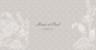 Faire-part de mariage Plumetis taupe gris - Page 1