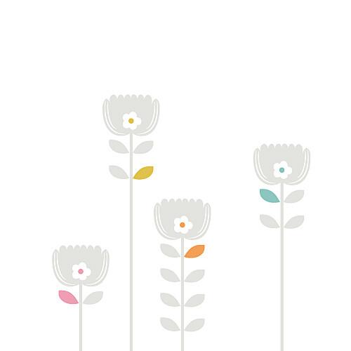 Faire-part de mariage Oslo blanc gris - Page 2