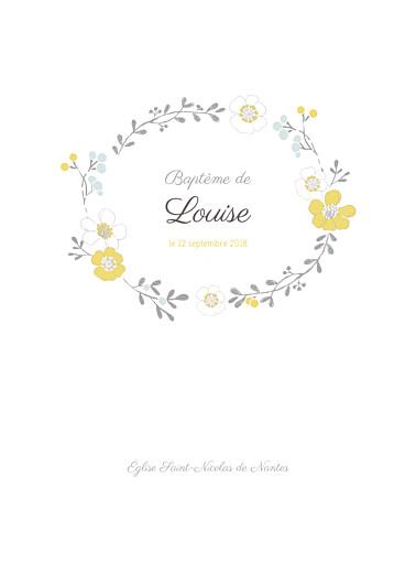 Livret de messe couronne de fleurs for Livret des fleurs