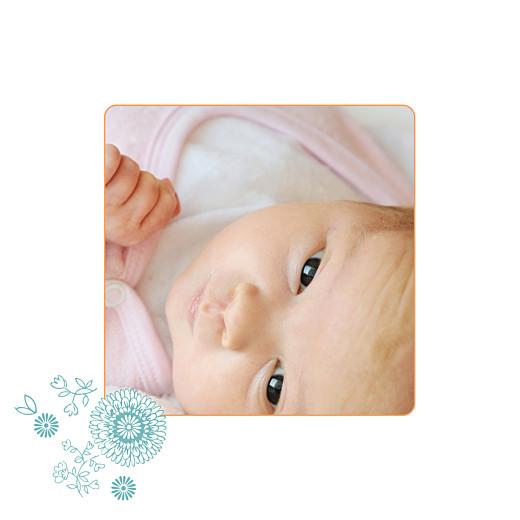 Faire-part de naissance Champetre photo multicolore - Page 2