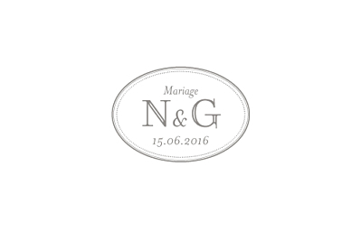 Carton d'invitation mariage Classique blanc finition