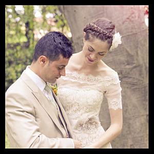 Carte de remerciement mariage noir souvenir 1 photo noir