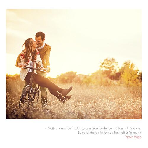 Faire-part de mariage Moderne 3 photos blanc - Page 2