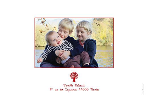Carte de voeux Ours en famille rouge - Page 4