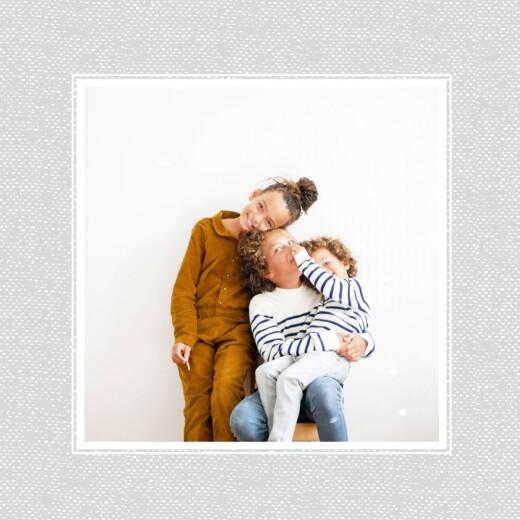 Carte de voeux Petites biches de noël bleu - Page 2