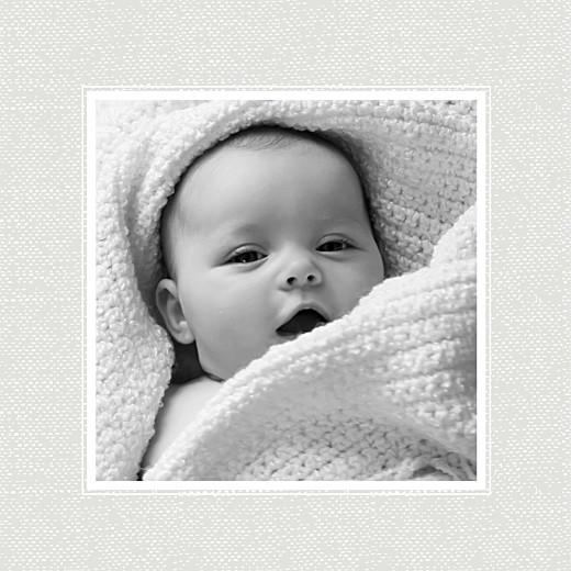 Faire-part de naissance Bambino bleu