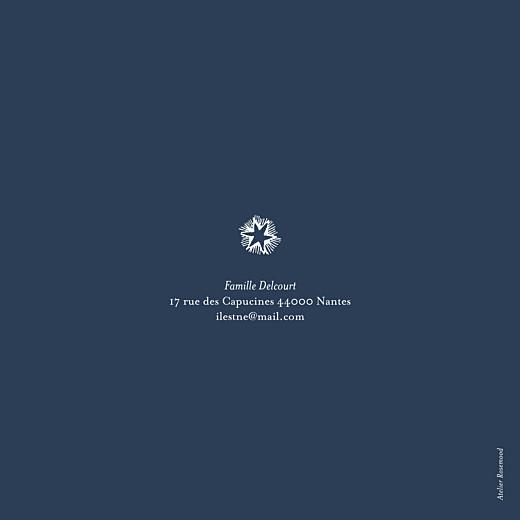 Faire-part de naissance Constellation photo bleu nuit - Page 4