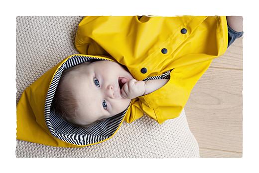 Faire-part de naissance Balade (4 enfants) photos beige jaune - Page 2