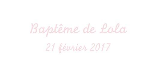 Marque-place Baptême Petit cheval rose pâle - Page 4