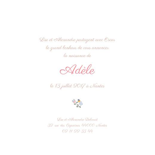 Faire-part de naissance Jardin fleuri (4 pages) bleuet - Page 3