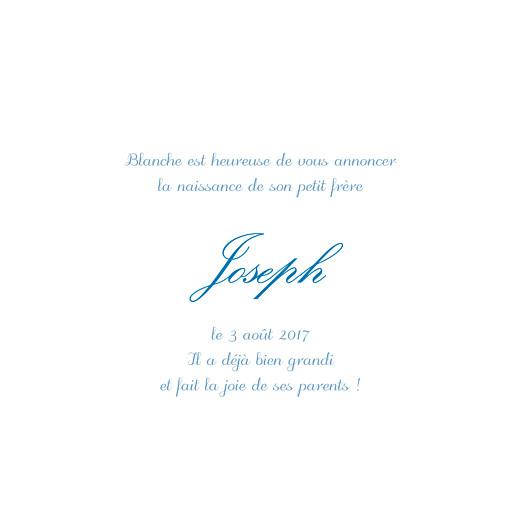Faire-part de naissance Douceurs (4 pages) bleu - Page 3