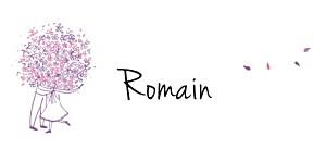 Marque-place mariage violet bouquet lilas