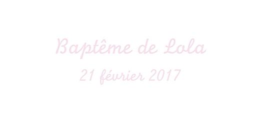 Etiquette perforée baptême Petit cheval rose clair