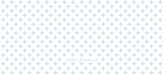 Etiquette perforée baptême Motif chic bleu dragee - Page 2