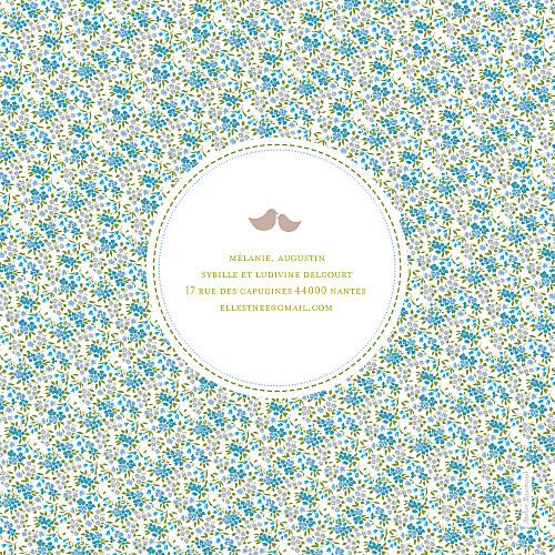 Faire-part de naissance Bilingue liberty bleu - Page 4