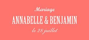 Etiquette de mariage Le plus beau jour corail