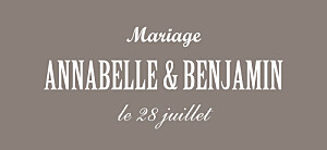 Etiquette de mariage beige le plus beau jour taupe
