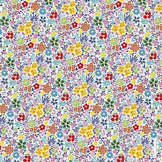 Faire-part de naissance Mille fleurs 2 photos jaune & rouge - Page 4