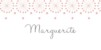 Marque-place mariage Hollywood corail - Page 1