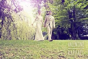 Carte de remerciement mariage marianne fournigault toi & moi (paysage) blanc