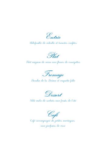 Menu de baptême Douceurs bleu - Page 3