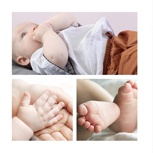 Faire-part de naissance Capri 4 photos moutarde - Page 2