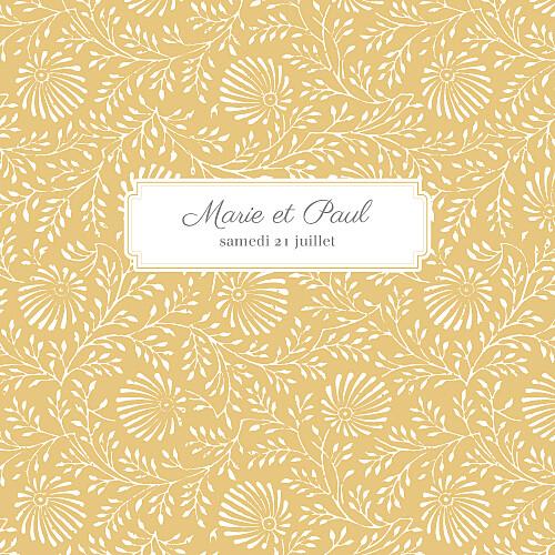 Faire-part de mariage Idylle (4 pages) pollen