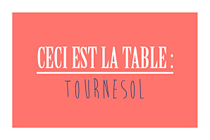 Marque-table mariage Un grand oui ! corail