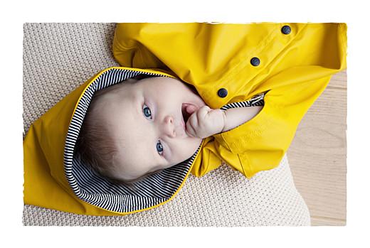 Faire-part de naissance Balade (3 enfants) photos beige jaune - Page 2